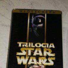 Cine: STAR WARS TRILOGÍA REMASTERIZADA VHS. Lote 110755792