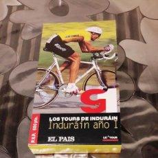 Cine: LOS TOURS DE INDURAIN - INDURAIN AÑO I - VERSION VHS - 1991. Lote 110810563