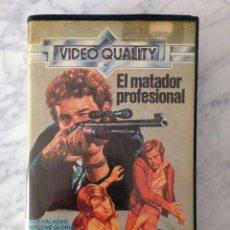 Cine: PELICULA VHS - EL MATADOR PROFESIONAL - JECE VALADAO - VIDEO QUALITY - ACCION. Lote 111229999