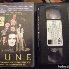 Cine: DUNE - DAVID LYNCH - KYLE MACLACHLAN , STING , JOSE FERRER - THORN EMI 1986. Lote 111267663