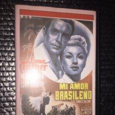 Cinéma: MI AMOR BRASILEÑO. Lote 264389874