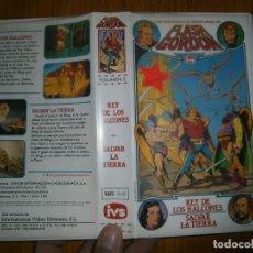 Cine: FLASH GORDON ..REY DE LOS HALCONES...SALVAR LA TIERRA -VHS(COMPRA MINIMA 10 €). Lote 111409267