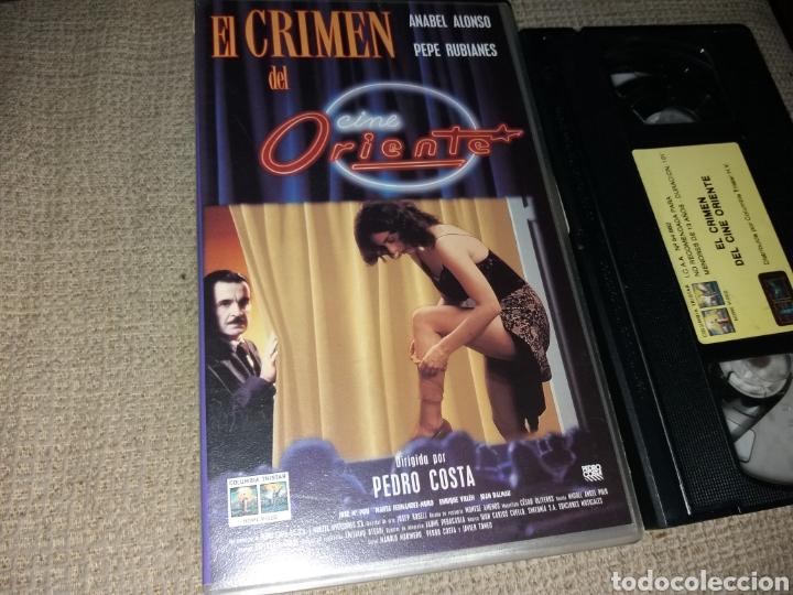 El Crimen Del Cine Oriente Vhs Dir Pedro Cos Comprar