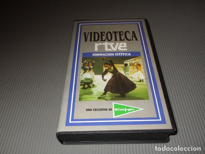 Cine: VIDEOTECA RTVE ( FORMACION ESTETICA ) - VHS - ESTRELLAS ESPAÑOLAS DE LA OPERA - PLACIDO DOMINGO - Foto 2 - 111511027