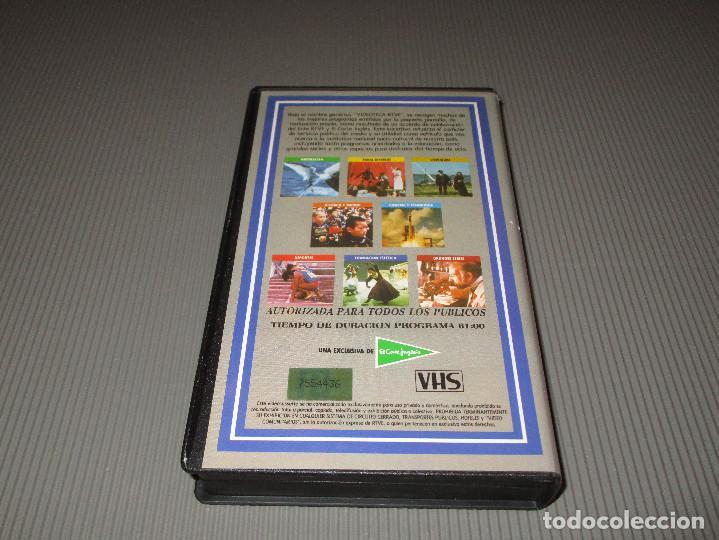 Cine: VIDEOTECA RTVE ( FORMACION ESTETICA ) - VHS - ESTRELLAS ESPAÑOLAS DE LA OPERA - PLACIDO DOMINGO - Foto 3 - 111511027