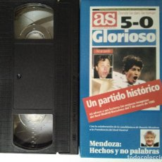 Cine: UN PARTIDO HISTORICO - 5-0 GLORIOSO - REL MADRID BARCELONA 7 DE ENERO DE 1.995. Lote 111529643