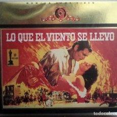 Cine: LO QUE EL VIENTO SE LLEVÓ - EDICIÓN DE LUJO CON DOS CINTAS VHS. Lote 111828351