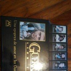 Cine: COLECCIÓN VHS SIN ABRIR. GUERRA Y PAZ. 8 CINTAS. Lote 111949623