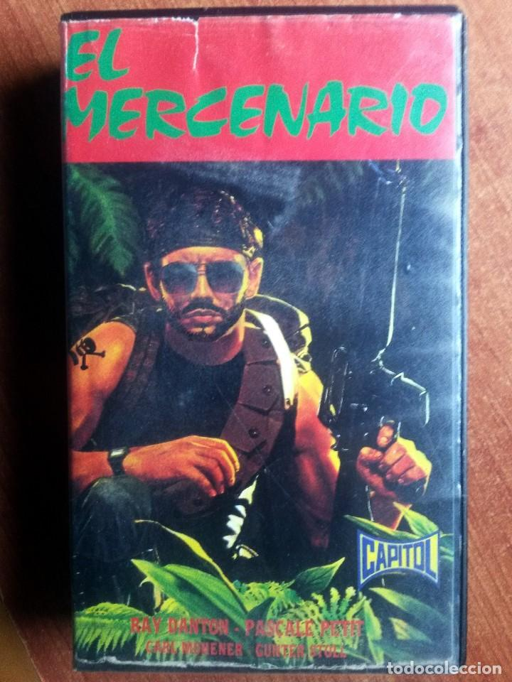 EL MERCENARIO - RAY DANTON / PASCALE PETIT / INMA DE SANTIS (Cine - Películas - VHS)