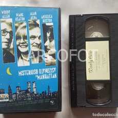 Cine: CINTA DE VIDEO VHS - MISTERIOSO ASESINATO EN MANHATTAN - WOODY ALLEN -1994. Lote 112131447