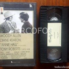 Cine: CINTA DE VIDEO VHS - ANNIE HALL - WOODY ALLEN - DIANE KEATON - 1977. Lote 112354251