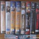 Cine: LOTE DE 11 PELICULAS VHS - HERMANOS MARX, CHARLOT, MARILYN, EL MURO DE PINK FLOYD...... Lote 112362375