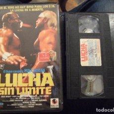 Cine: LUCHA SIN LIMITE - THOMAS WRIGHT - HULK HOGAN , KURT FULLER - RECORD VISION 1990. Lote 178285107