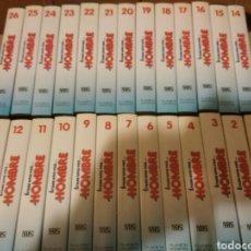 Cine: ÉRASE UNA VEZ EL HOMBRE EN VHS EDITORIAL PLANETA-AGOSTINI COMPLETA 26 PELICULAS. Lote 112607019