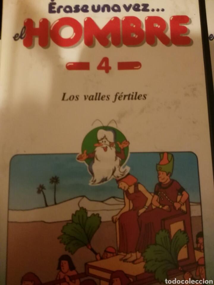 Cine: Érase una vez el hombre en VHS Editorial Planeta-Agostini COMPLETA 26 peliculas - Foto 3 - 112607019