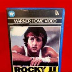 Cine: ROCKY 2 (1979) - 1ª EDICIÓN WARNER HOME VIDEO. Lote 112666283