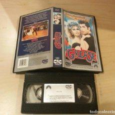 Cine: ANTIGUA EDICION VHS - GREASE - VHS - CIC - JOHN TRAVOLTA - OLIVIA NEWTON JOHN. Lote 112672927