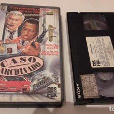 Caso Archivado (Case Closed) VHS Cbs Fox 1a Edicion Accion 80s