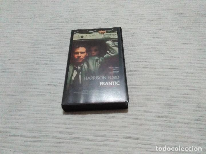 FRANTIC (V.O.)HARRISON FORD_SPANISH EDITION 1989 WARNER BROSS. LIKE NEW!! (Cine - Películas - VHS)