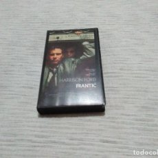 Cine: FRANTIC (V.O.)HARRISON FORD_SPANISH EDITION 1989 WARNER BROSS. LIKE NEW!!. Lote 112796191