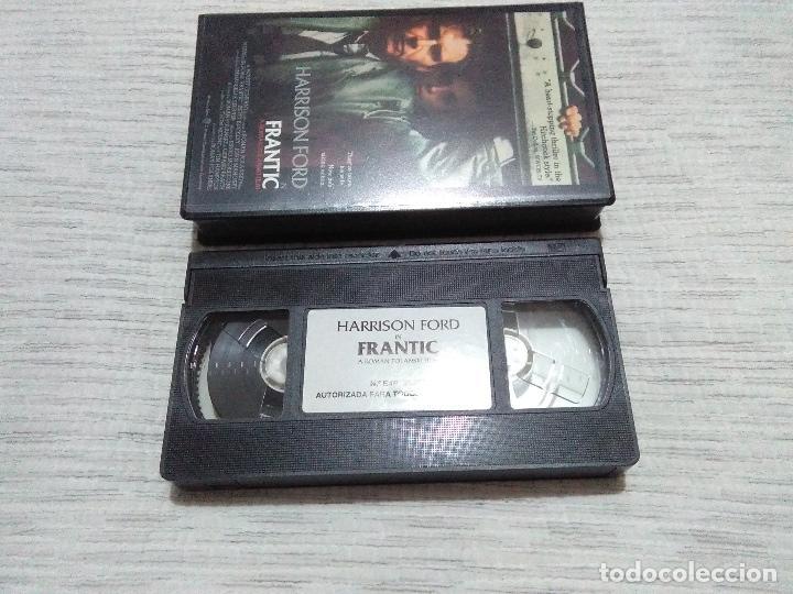 Cine: FRANTIC (V.O.)HARRISON FORD_Spanish Edition 1989 Warner Bross. LIKE NEW!! - Foto 2 - 112796191