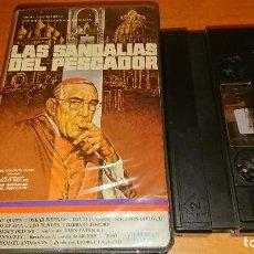 Cine: LAS SANDALIAS DEL PESCADOR V2000 NO VHS. Lote 112940615