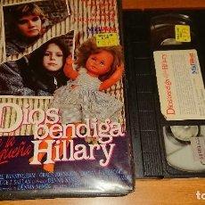 Cine: DIOS BENDIGA A LA PEQUEÑA HILLARY VHS. Lote 112940683