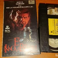 Cine: EL INNOMBRABLE VHS. Lote 112940751