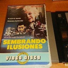Cine: SEMBRANDO ILUSIONES V2000 NO VHS . Lote 112940887