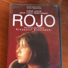 Cine: ROJO - KIESLOWSKI - VHS. Lote 112956347