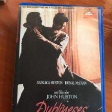 Cine: DUBLINESES - VHS. Lote 112956691