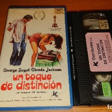 VHS - UN TOQUE DE DISTINCION- VHS- GEORGE SEGAL - GLENDA JACKSON