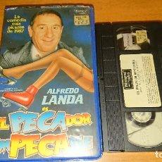 Cine: EL PECADOR IMPECABLE VHS. Lote 113036939