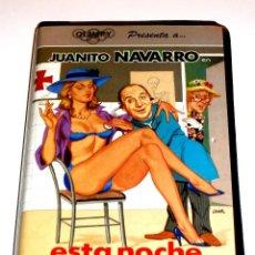 Cine: ESTA NOCHE CONTIGO (1988) - EUGENIO GARCÍA TOLEDANO JUANITO NAVARRO SIMÓN CABIDO EMMA OZORES VHS. Lote 113123451