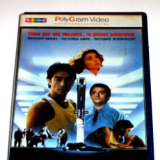 Cine: LA ULTIMA SOLUCION (1984) - DENIS AMAR RICHARD BERRY RICHARD BOHRINGER VICTORIA ABRIL VHS. Lote 113123711