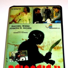 Cine: PSICOSIS II (1981) - KEN HUGHES RACHEL WARD LEONARD MANN DREW SNYDER JOSEPH R. SICARI VHS 1ª EDICIÓN. Lote 113123935