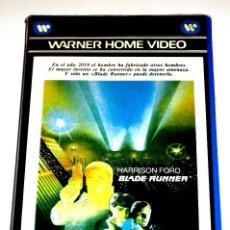 Cine: BLADE RUNNER (1982) - RIDLEY SCOTT HARRISON RUTGER HAUER FORD SEAN YOUNG DARYL HANNAH VHS 1ª EDICIÓN. Lote 113124247