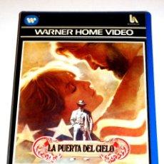 Cine: LA PUERTA DEL CIELO (1980) - MICHAEL CIMINO KRIS KRISTOFFERSON CHRISTOPHER WALKEN VHS 1ª EDICIÓN. Lote 113124311