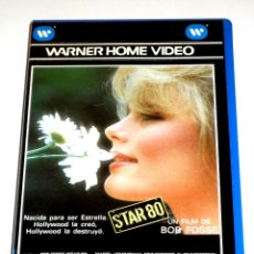 Cine: STAR 80 (1983) - BOB FOSSE MARIEL HEMINGWAY ERIC ROBERTS CLIFF ROBERTSON CARROLL BAKER VHS. Lote 113124391