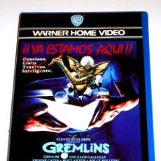 Cine: GREMLINS (1984) - JOE DANTE ZACH GALLIGAN PHOEBE CATES HOYT AXTON DICK MILLER VHS 1ª EDICIÓN. Lote 113124659