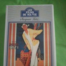 Cine: VHS EN FRANCÉS JACQUES TATI. Lote 113325390