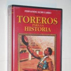 Cine: LUIS MIGUEL DOMINGUÍN *** COLECCIÓN TOREROS PARA LA HISTORIA Nº 11 *** DIVISA *** VHS PRECINTADO **. Lote 113417007