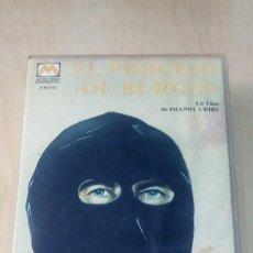 Cine: EL PROCESO DE BURGOS VHS. Lote 113577187