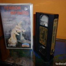 Cine: TERROR INFINITOOOOOO ...TERROR VHS ITALIANADAAAAAA. Lote 113634331