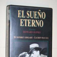 Cine: EL SUEÑO ETERNO (HUMPHREY BOGART) *** VHS CINE *** WARNER HOME VIDEO (1989). Lote 113894839
