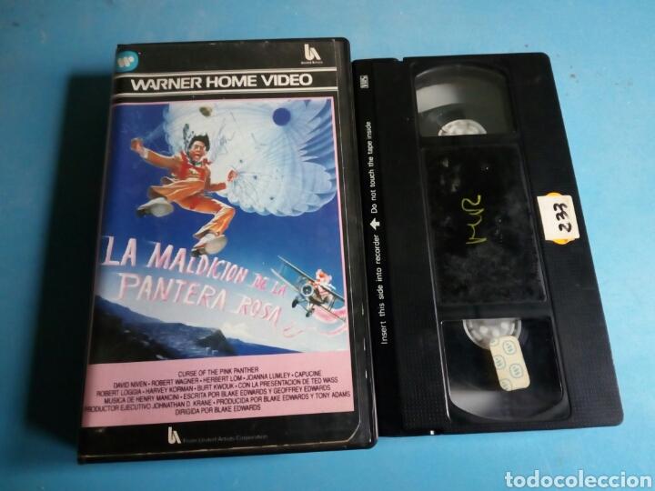 VHS- LA MALDICIÓN DE LA PANTERA ROSA, AÑO 1984 (Cine - Películas - VHS)