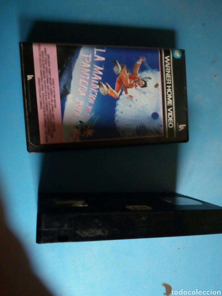 Cine: VHS- La Maldición de la Pantera Rosa, año 1984 - Foto 3 - 113916562