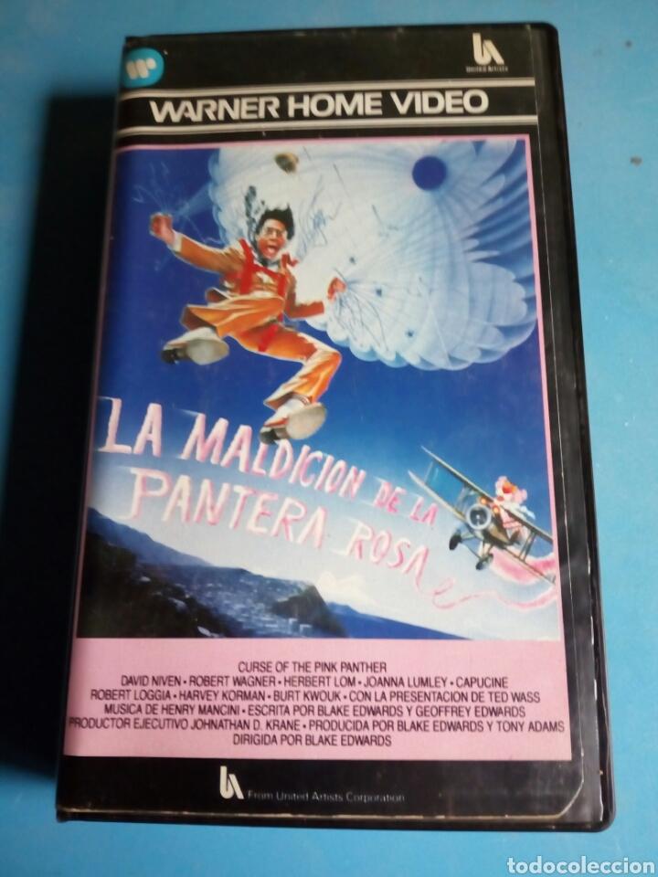 Cine: VHS- La Maldición de la Pantera Rosa, año 1984 - Foto 4 - 113916562