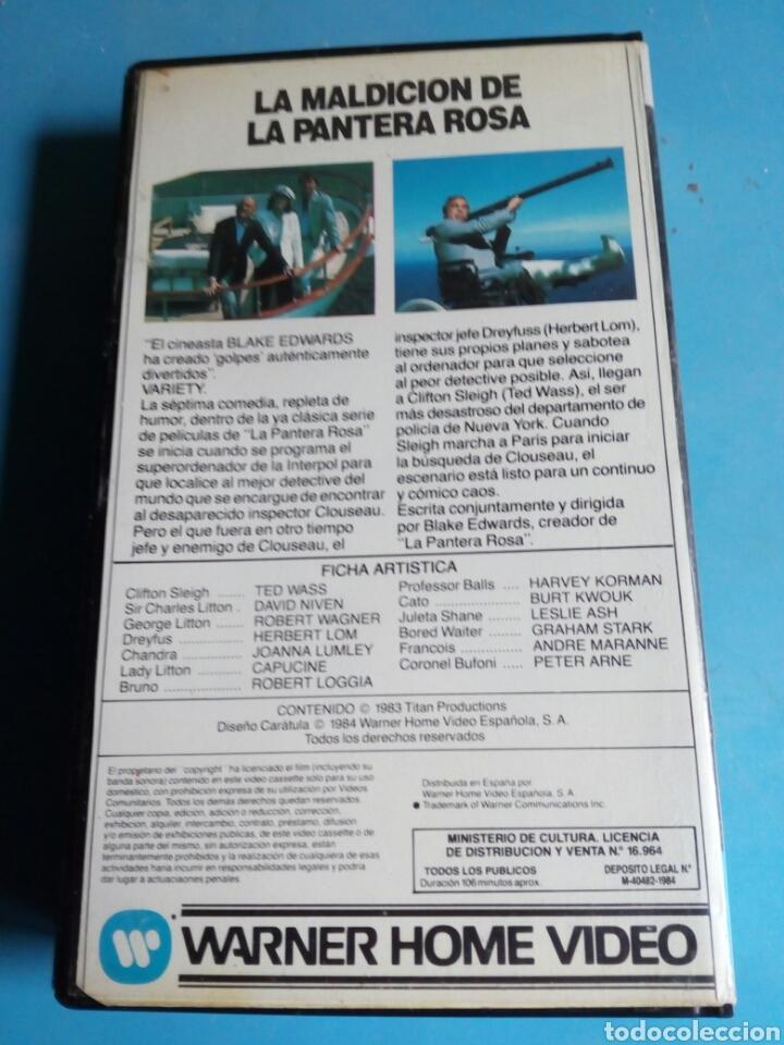 Cine: VHS- La Maldición de la Pantera Rosa, año 1984 - Foto 5 - 113916562