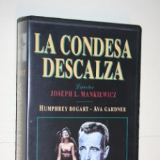 Cine: LA CONDESA DESCALZA (HUMPHREY BOGART) *** VHS CINE *** WARNER HOME VIDEO . Lote 113932339